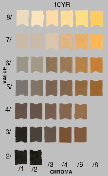 soil colour - Munsell Soil Color Book